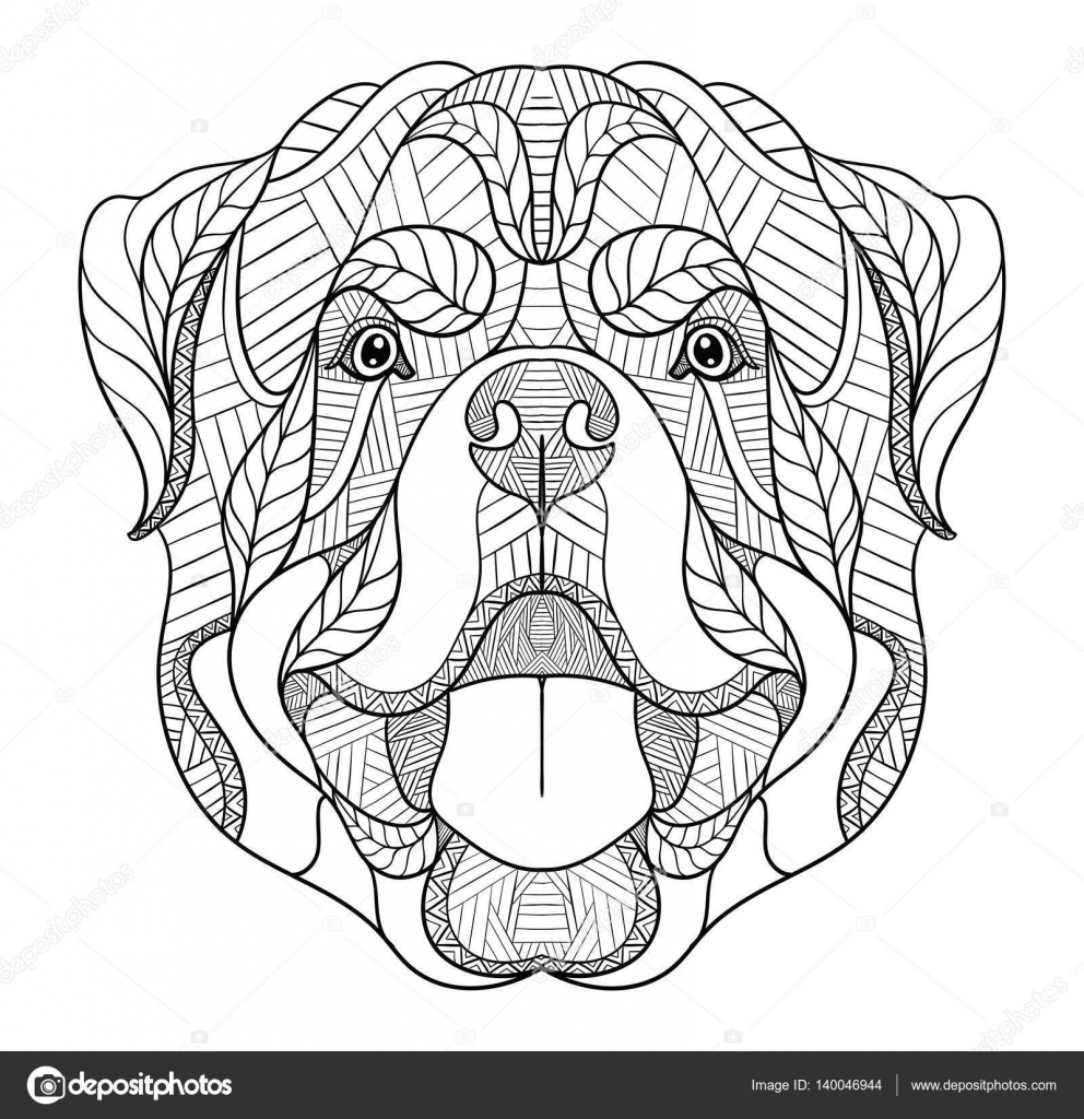 Rottweiler Drawing at GetDrawings.com | Free for personal use ...