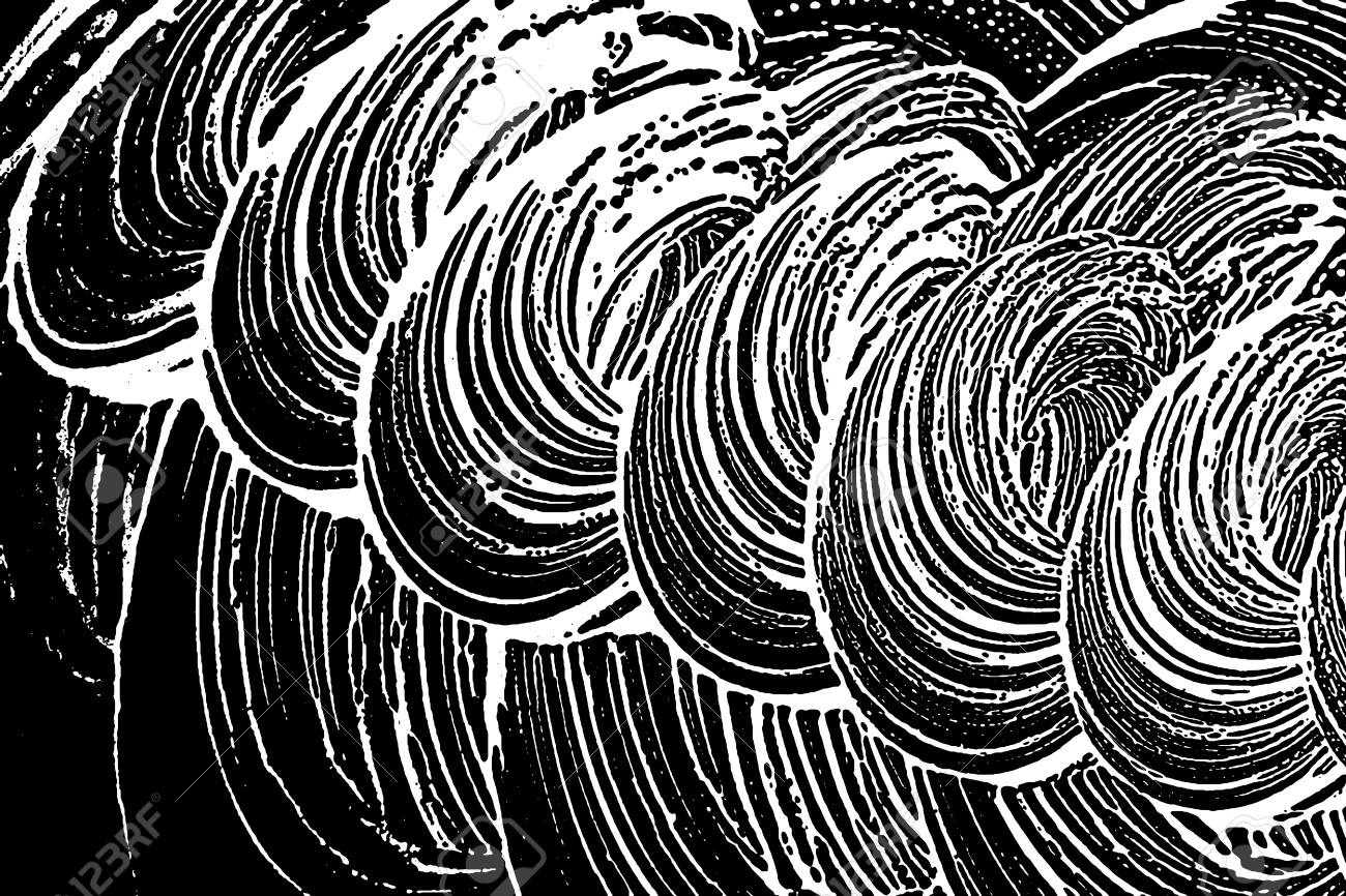 1300x866 Grunge Soap Texture. Distress Black And White Rough Foam Trace