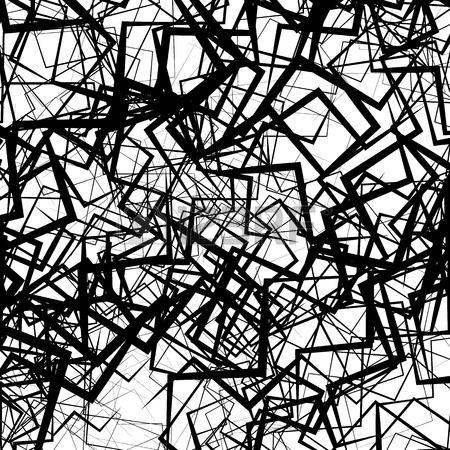 450x450 Mosaic Of Chaotic Irregular, Random Squares. Repeatable Background