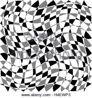 300x320 Distorted, Deformed Asymmetric Texture. Tessellating Rough, Edgy