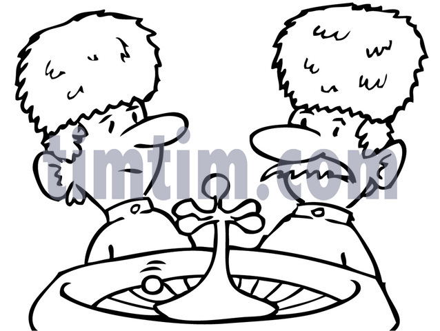638x480 Free Drawing Of Russian Roulette Bw From The Category Cards
