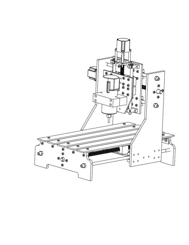 638x826 Mini Cnc (Router Machine)