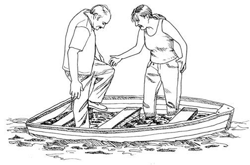 Row Boat Drawing At Getdrawings Com