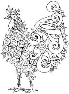 229x310 Impression Obsession Cling Mounted Rubber Stamp
