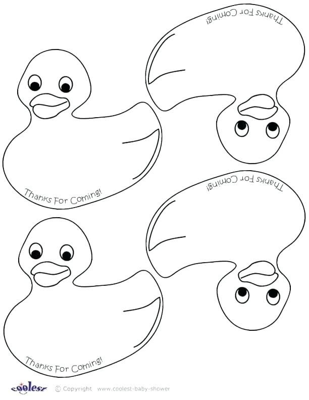 612x792 Rubber Duck Coloring Page Duck Coloring Page Rubber Duck Coloring