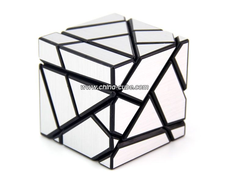750x571 Fangcun Ghost Cube Black Silver Stickers Magic Cube Puzzles Toys
