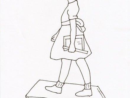 Ruby bridges drawing at free for for Ruby bridges coloring pages