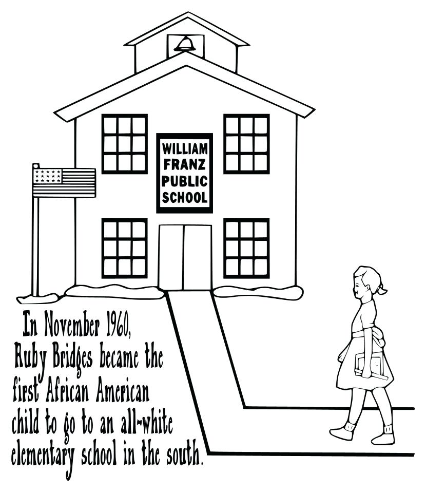 Ruby Bridges Drawing at GetDrawings.com | Free for personal use Ruby ...
