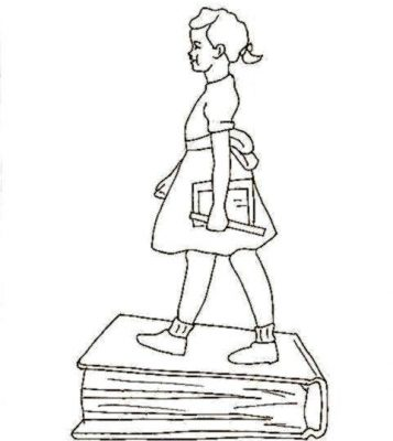 357x400 Ruby Bridges Coloring Page Design And Ideas Page 0