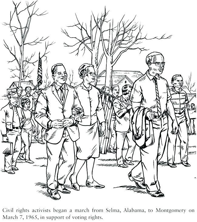 650x732 New Ruby Bridges Coloring Pages Online Publications Civil Rights