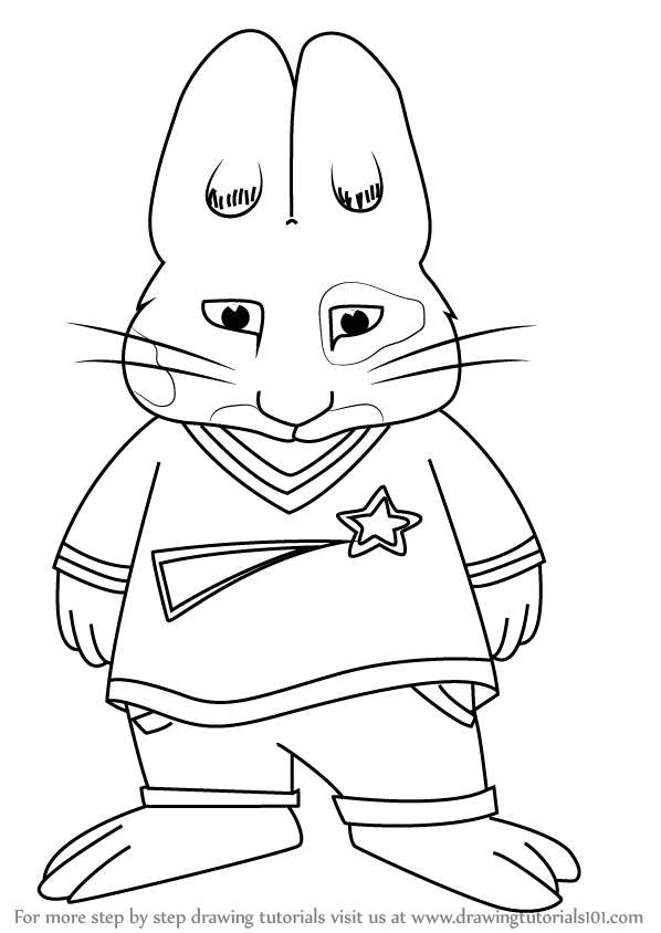 598x844 Learn How To Draw Roger Piazza From Max And Ruby (Max And Ruby