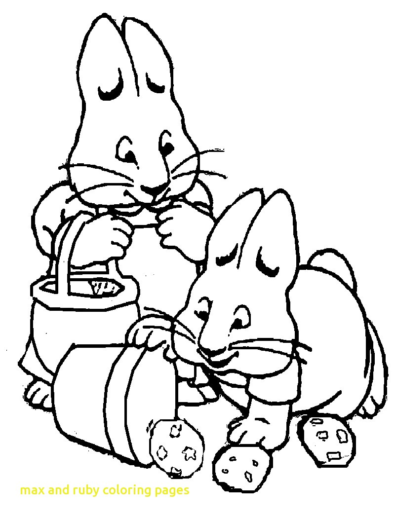 800x1050 Max And Ruby Coloring Pages Coloringpageforkids.co