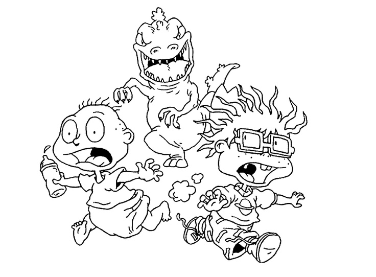 Rugrats Drawing