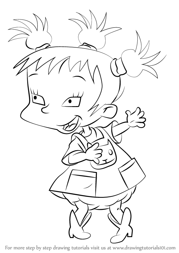 stu pickles coloring pages | Rugrats Drawing at GetDrawings.com | Free for personal use ...