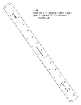 281x363 Hobbyist 144th Scale Ruler