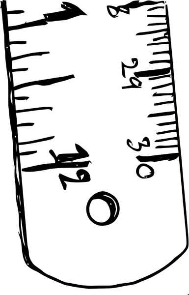 385x600 Ruler Free Vector In Open Office Drawing Svg ( Svg ) Vector