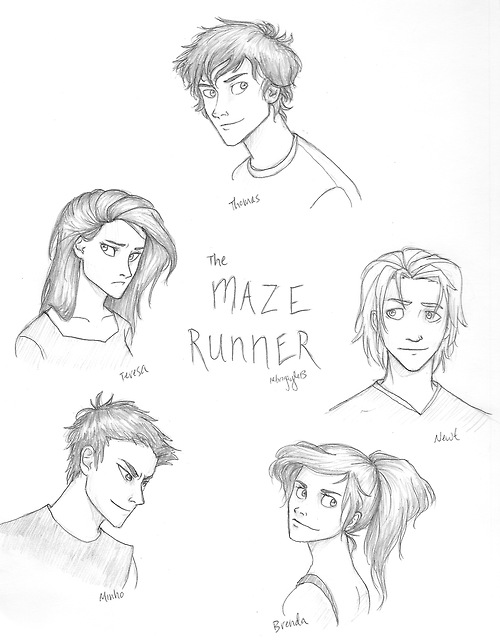 500x643 The Maze Runner By Iabri71 On These Are Good Drawings