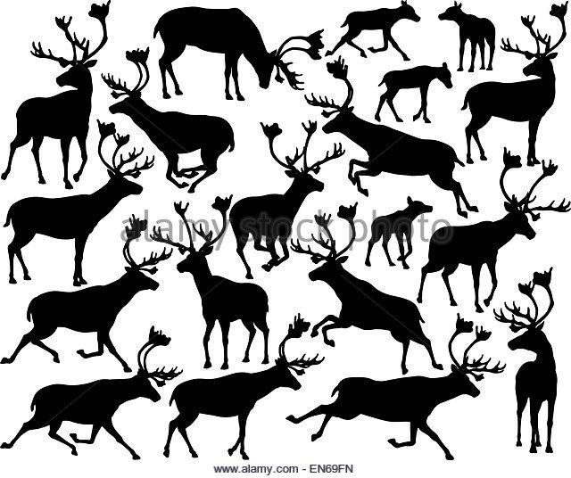 Running Deer Drawing