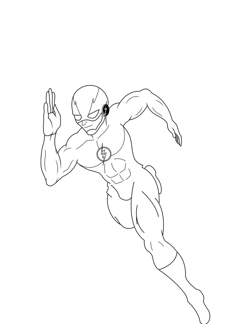 762x1048 The Flash Running