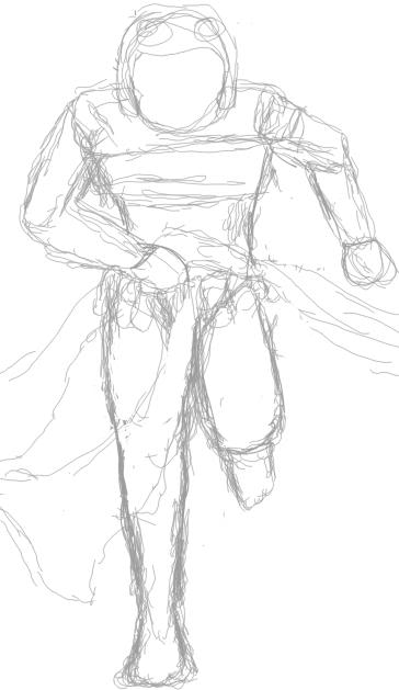 364x629 How Do You Draw A Person Running Neopian Times Writers' Forum