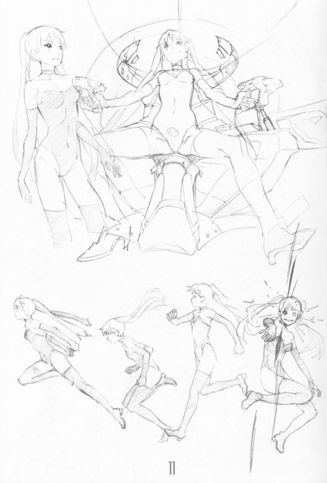 658x971 I Like The Poses, I Know I'Ll Need The Running Ones Drawing 101