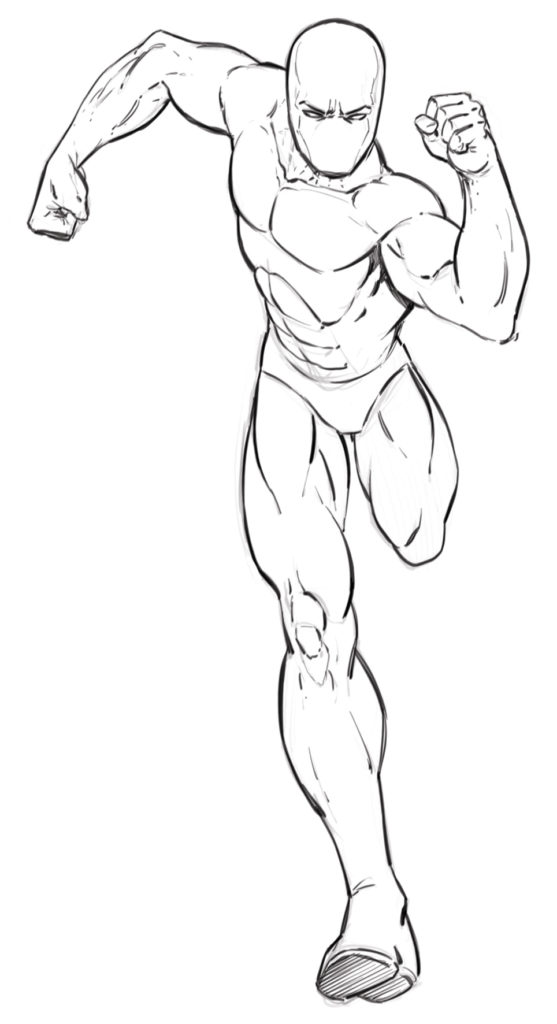 557x1024 Drawing Comic Characters With Learn To Draw Action Heroes!