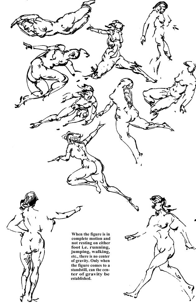 630x981 Drawing Figures Amp People In Action Amp Movement, Jumping, Twisting