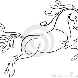 272x273 Fast Running Horse Drawing Quotes Horse Drawn