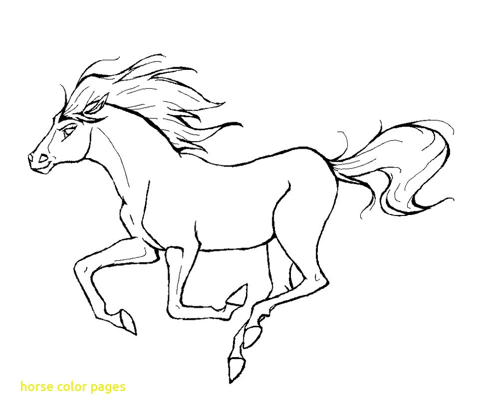 960x832 Horse Color Pages With Running Horse Coloring Pages Coloringstar