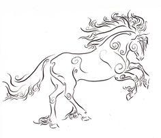 236x202 Horses Drawings