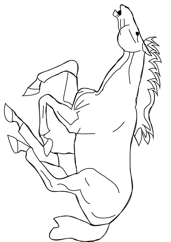 Running Horse Drawing at GetDrawings.com | Free for personal use ...