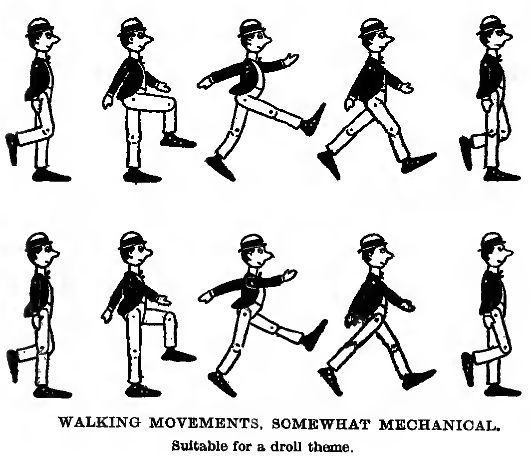 1071x923 How To Draw And Animate A Person Walking Or Running