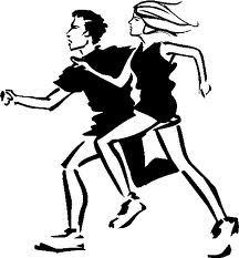 Running Race Drawing