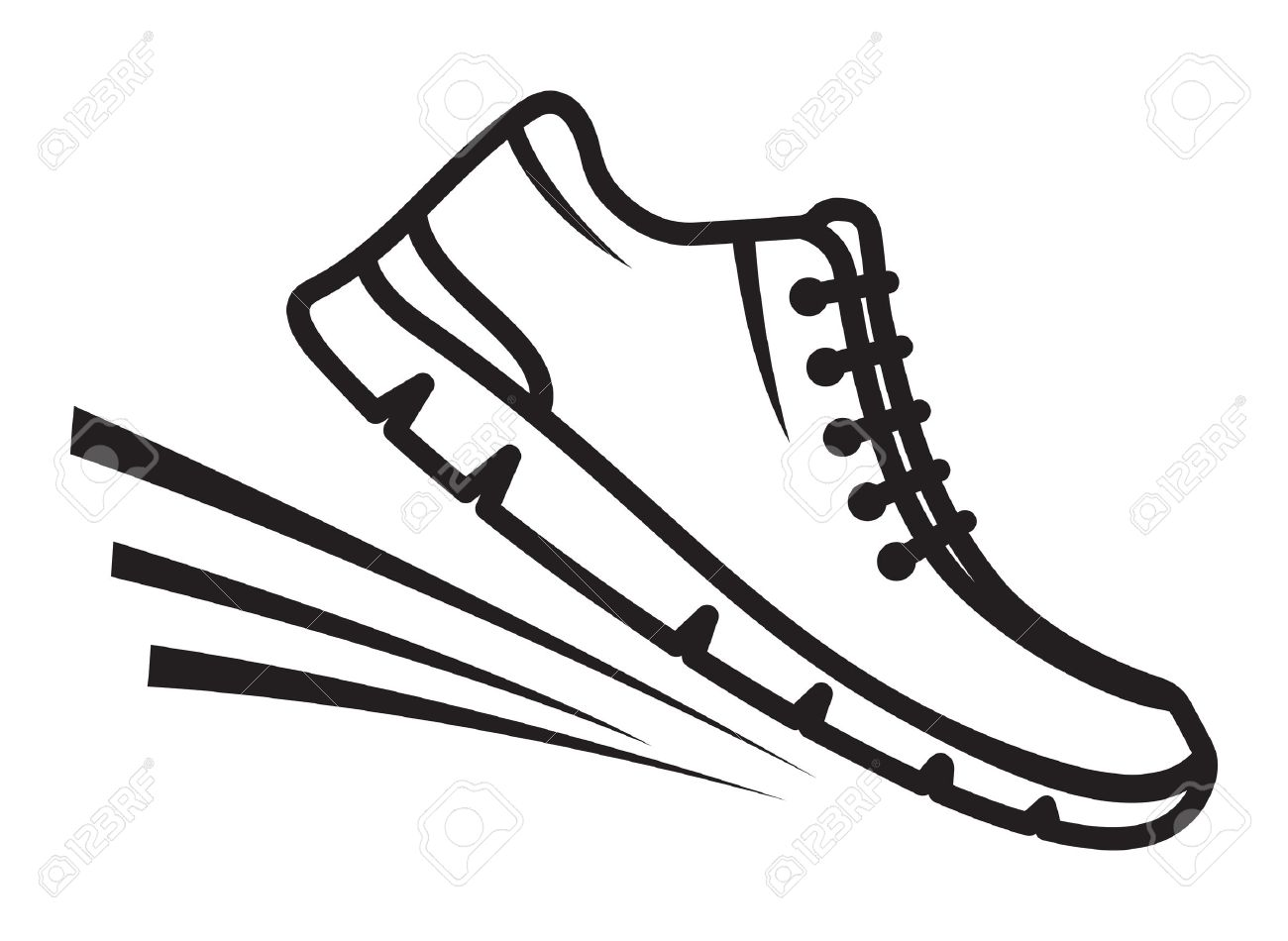 running shoes drawing at getdrawings com free for personal use rh getdrawings com cartoon running shoes clipart running shoes clipart png