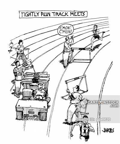 400x481 Track Field Cartoons And Comics