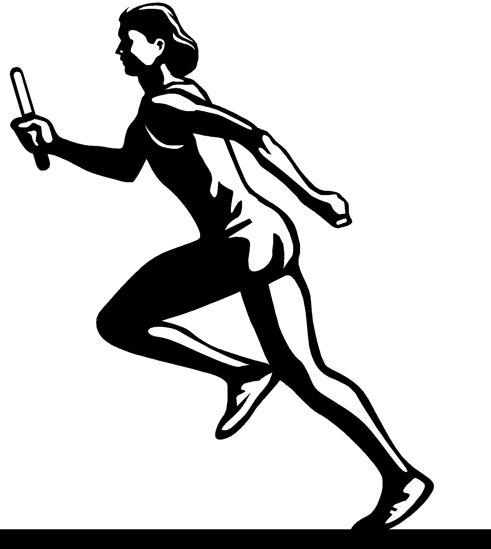 It's just an image of Simplicity Track And Field Drawing
