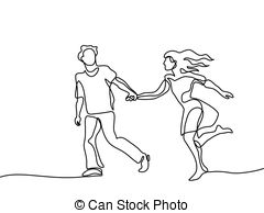 240x194 Illustration Happy Woman Running Stock Photos And Images. 1,887