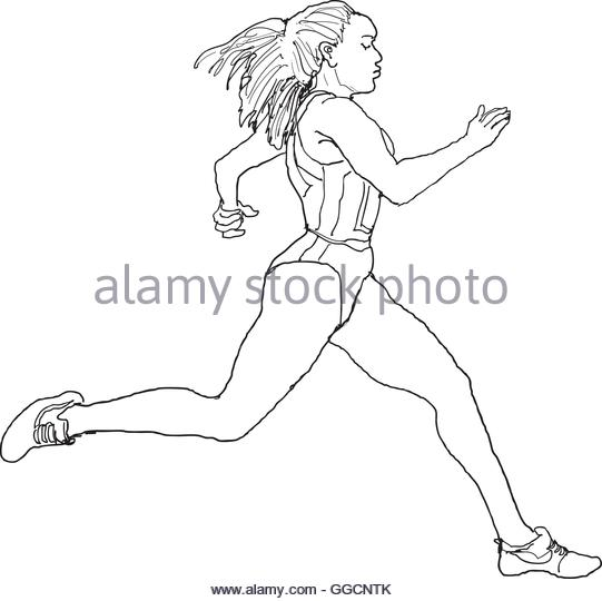 541x540 Running Stock Vector Images