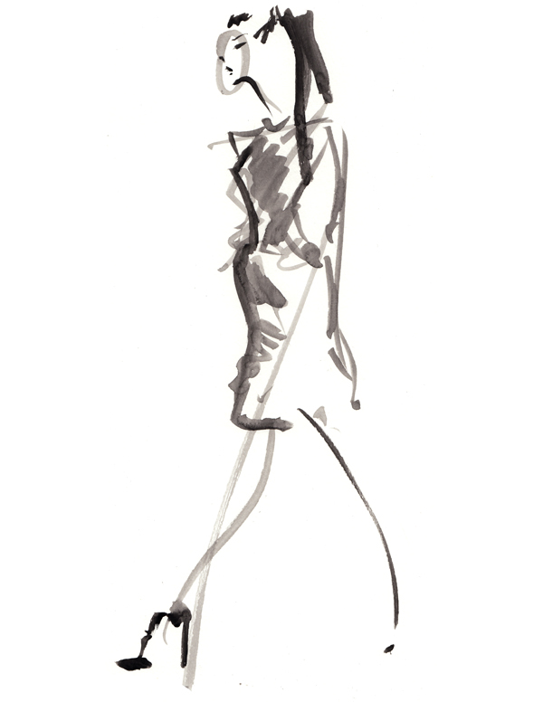 600x776 Live Runway Sketching London Fashion Week 18 09 12 Final Fashion