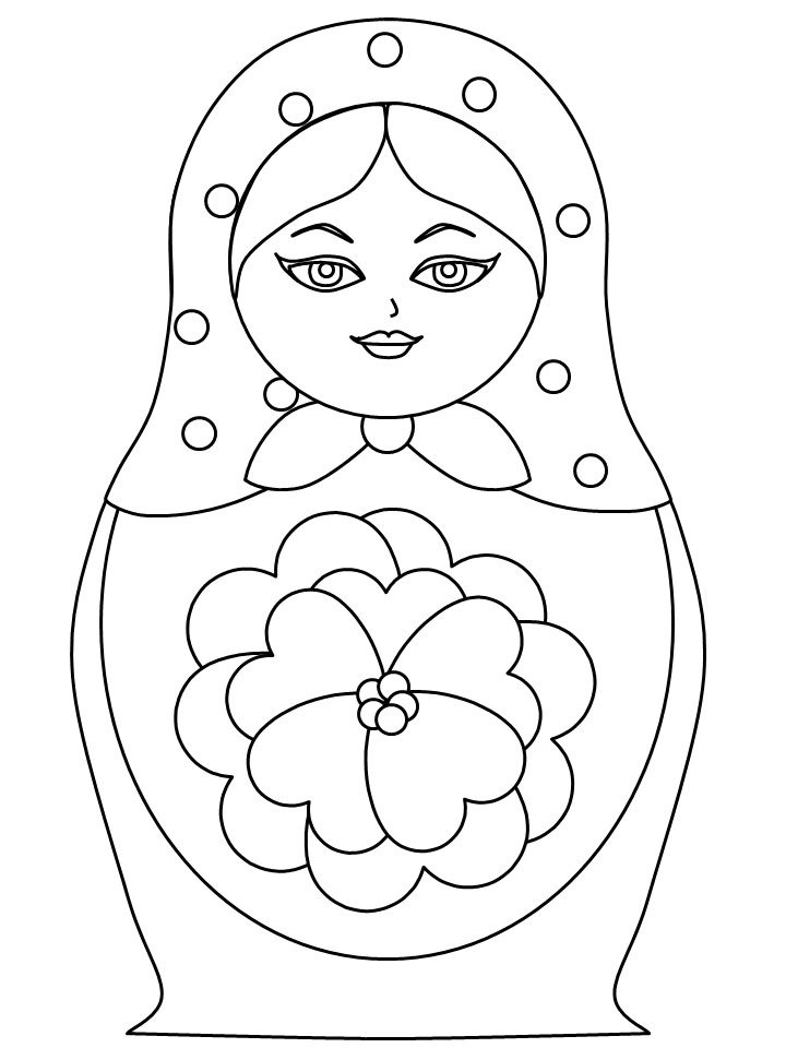 Russian Doll Drawing