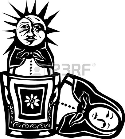 407x450 2,989 Russian Doll Cliparts, Stock Vector And Royalty Free Russian