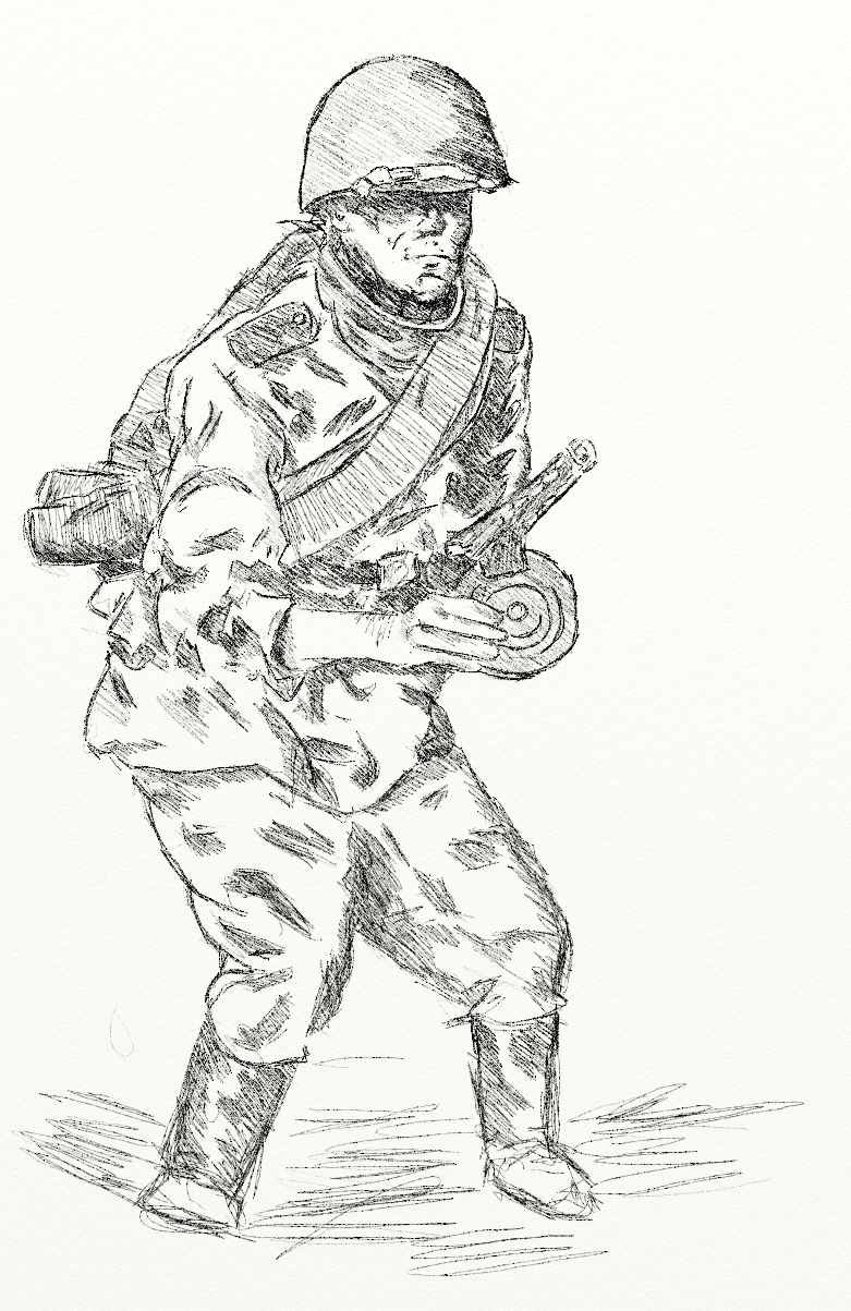 781x1203 Russian Soldier By Goodoldretro