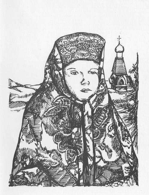497x650 Drawing Russian Artwork For Sale On Fine Art Prints