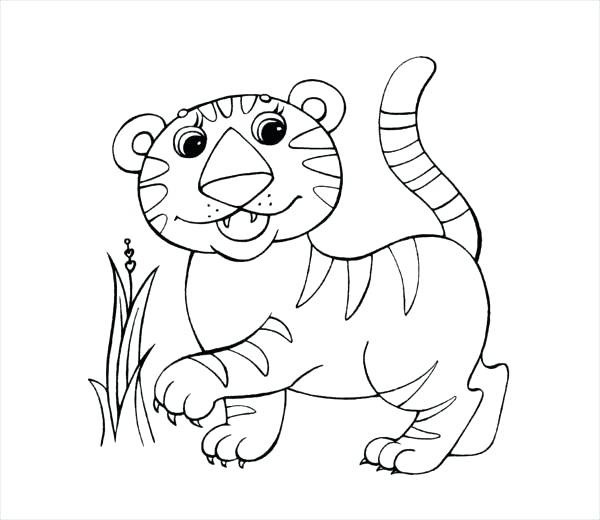 sabertooth tiger coloring pages - photo#28