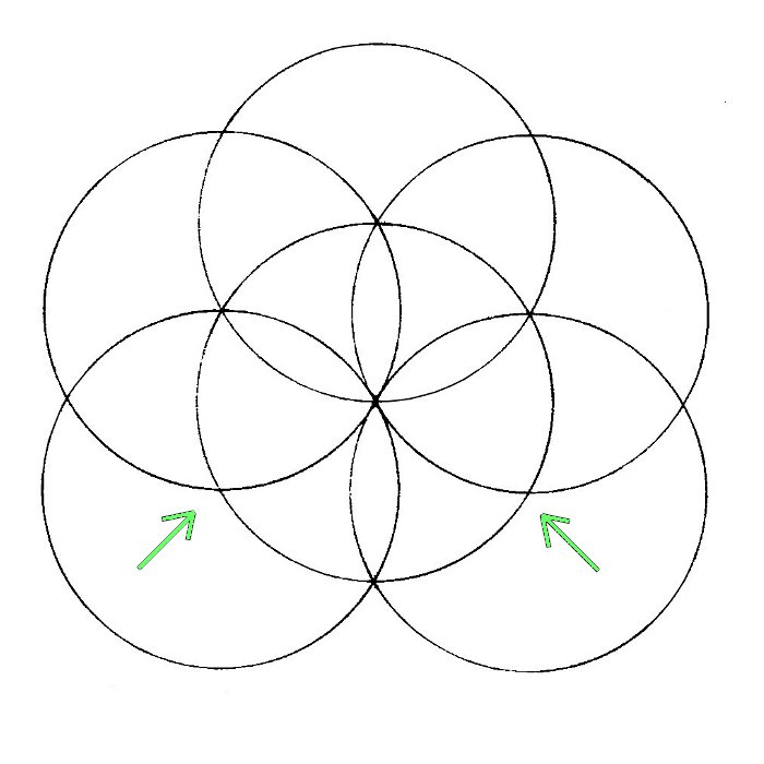 700x700 Flower Of Life How To Draw Chemical Marriage