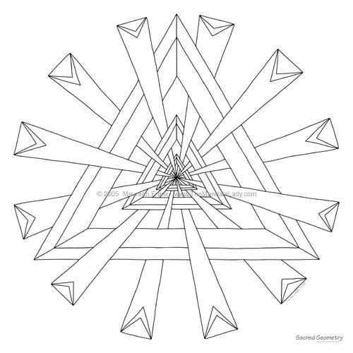 500x500 Week 5 Sacred Geometry Mandala Of The Week