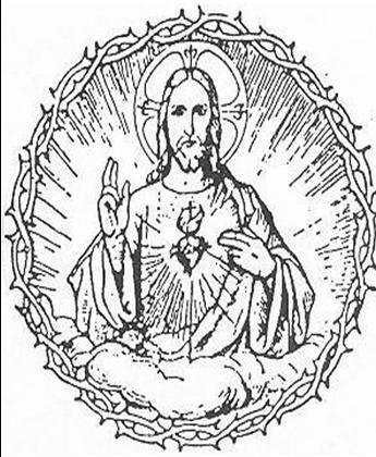345x420 Padre Pio's Sacred Heart Novena Enter Through The Narrow Gate