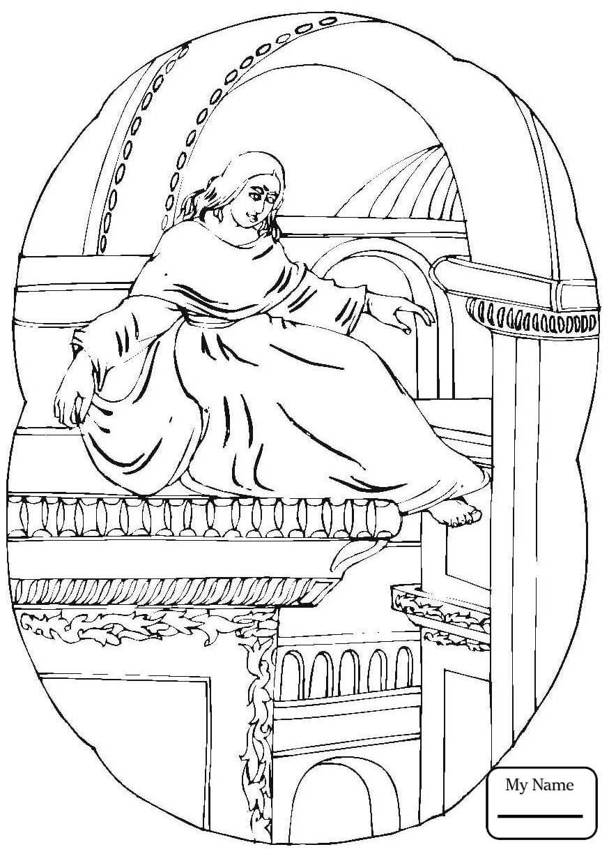 874x1224 Sacred Heart Of Jesus Coloring Page