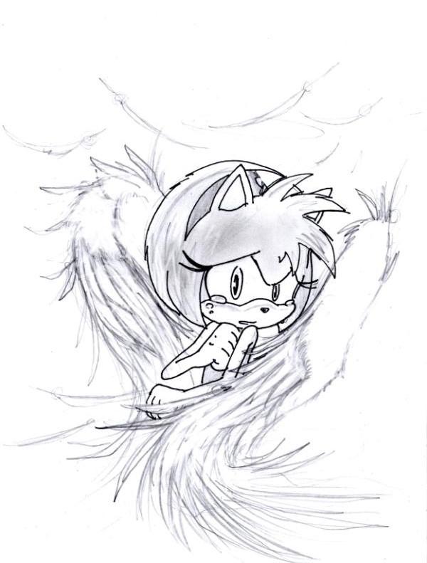 600x791 Amy As A Sad Angel By Smsskullleader