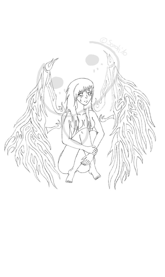 689x1160 Sad Angel Tattoo